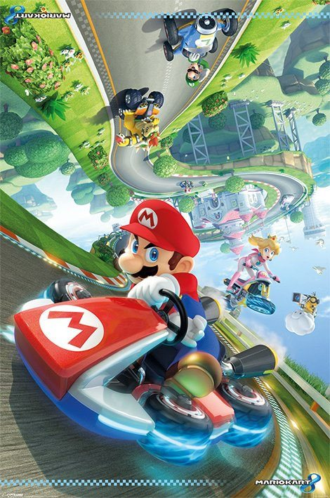 Mario Kart 8 Poster Pack Flip Poster 61 x 91 cm (5)