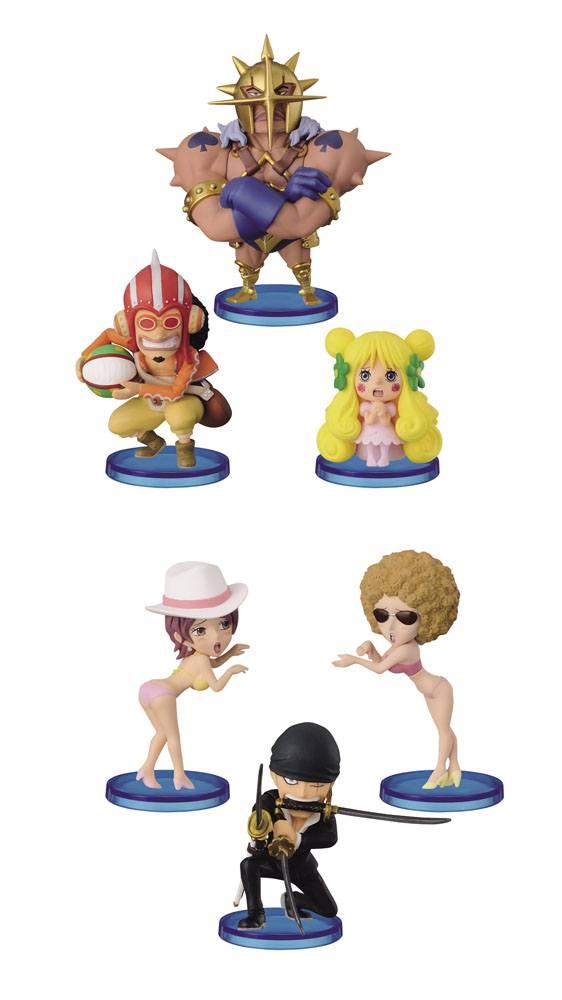 One Piece WCF ChiBi Figures 7 cm Assortment Dressrosa II (10)