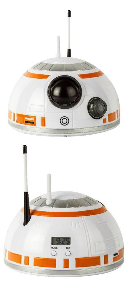 Star Wars Episode VIII Alarm Clock with Projector BB-8