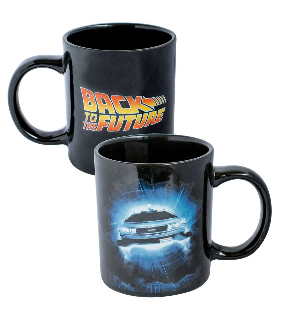 Back to the Future Mug Logo