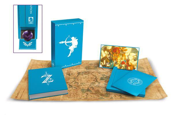 Legend of Zelda Breath of the Wild Art Book Creating A Champion Hero's Edition