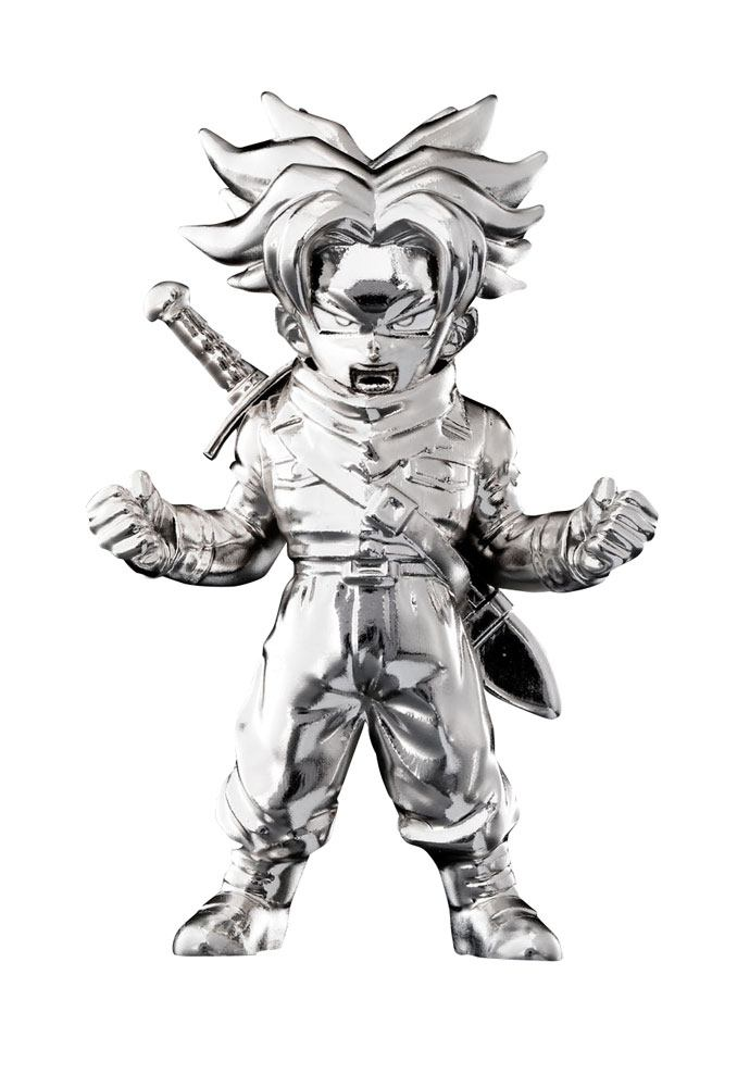 Dragonball Super Absolute Chogokin Mini Figure Super Saiyan Trunks (Future) 7 cm