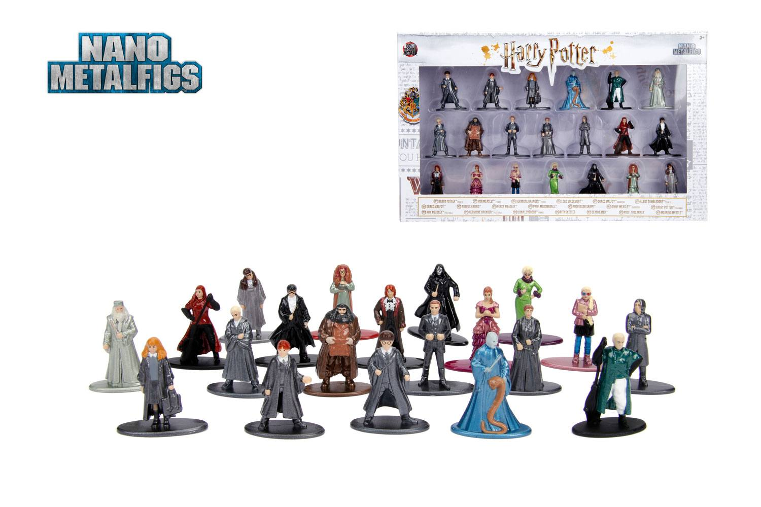 Harry Potter Nano Metalfigs Diecast Mini Figures 20-Pack Wave 3 4 cm