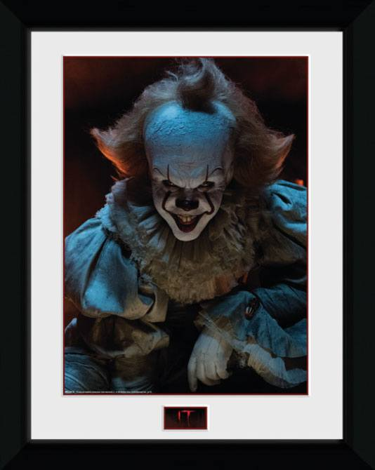 It Framed Poster Smile 45 x 34 cm