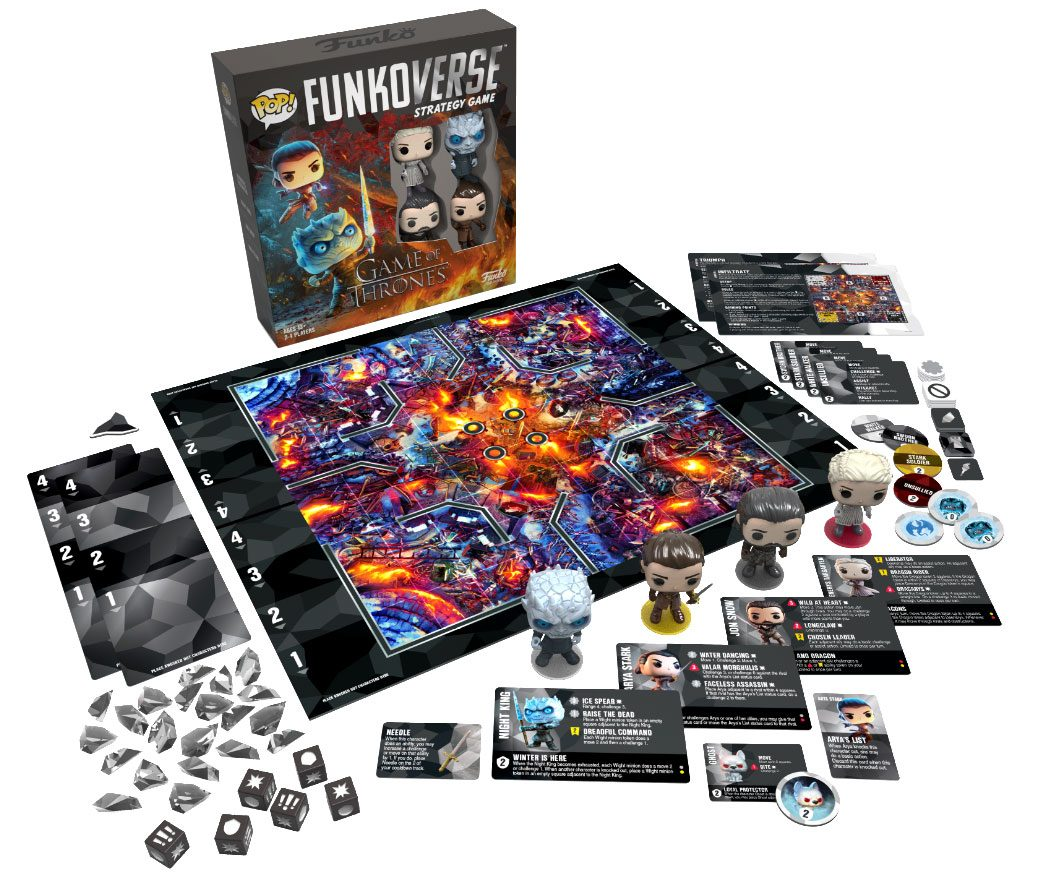 Game of Thrones Funkoverse Board Game 4 Character Base Set *English Version*