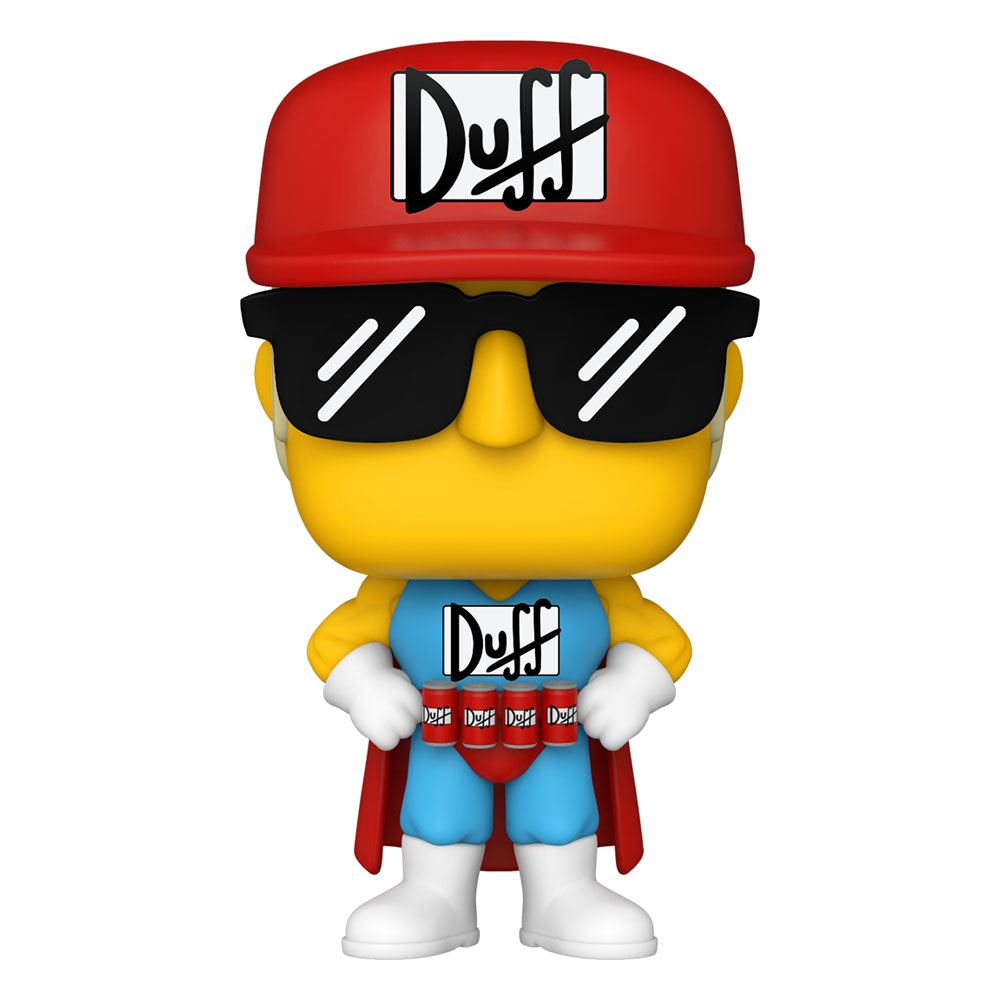 Simpsons POP! Animation Vinyl Figure Duffman 9 cm