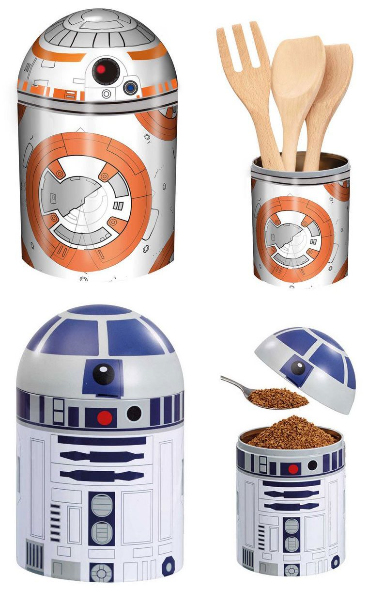 Star Wars Kitchen Storage Set BB-8 & R2-D2