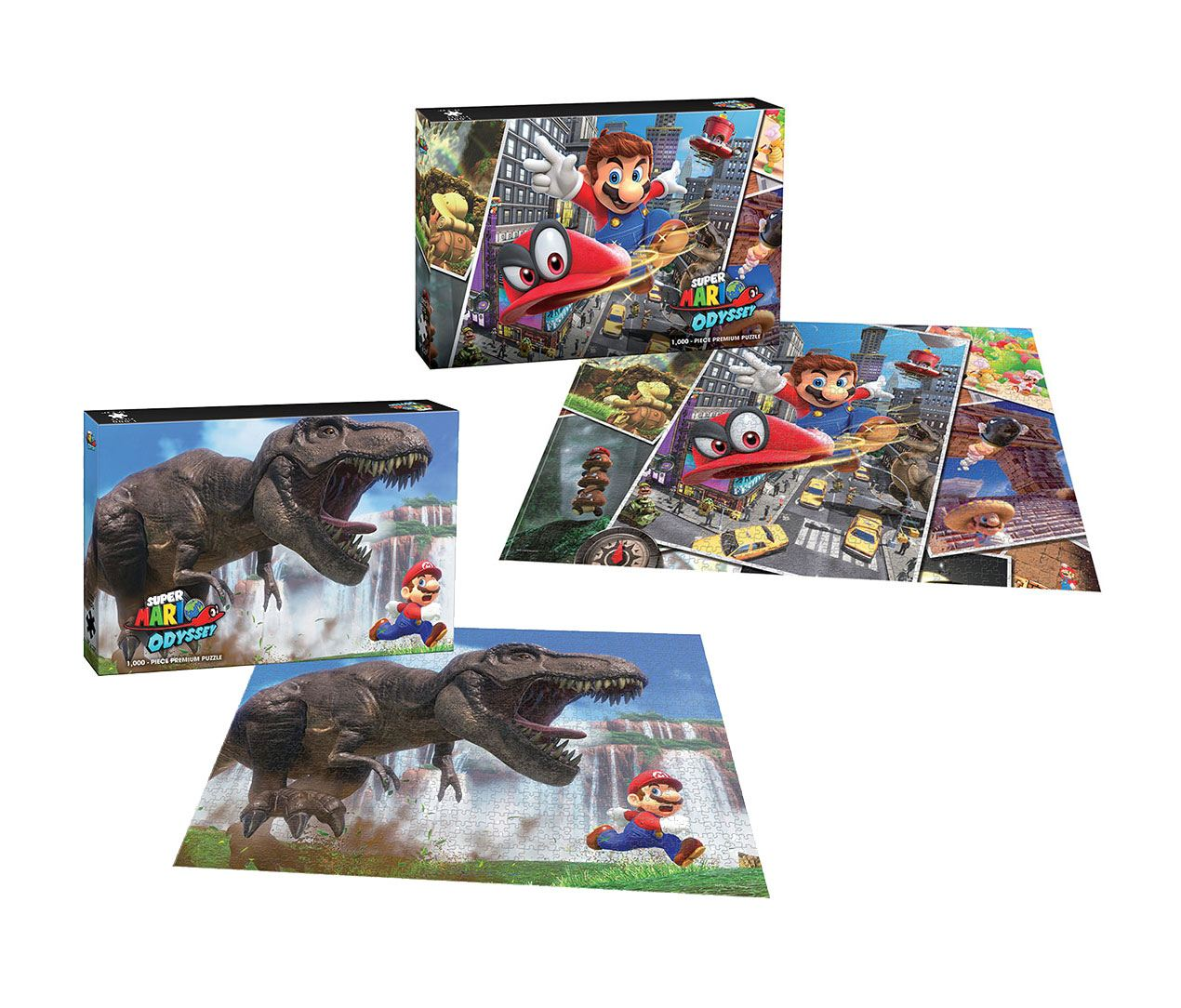 Super Mario Odyssey Puzzle Snapshots & The Chase Assortment (4)