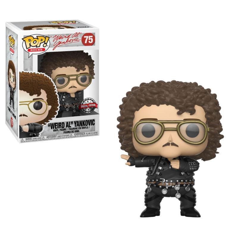 Weird Al Yankovic POP! Rocks Vinyl Figure Weird Al Yankovic Special Edition 9 cm