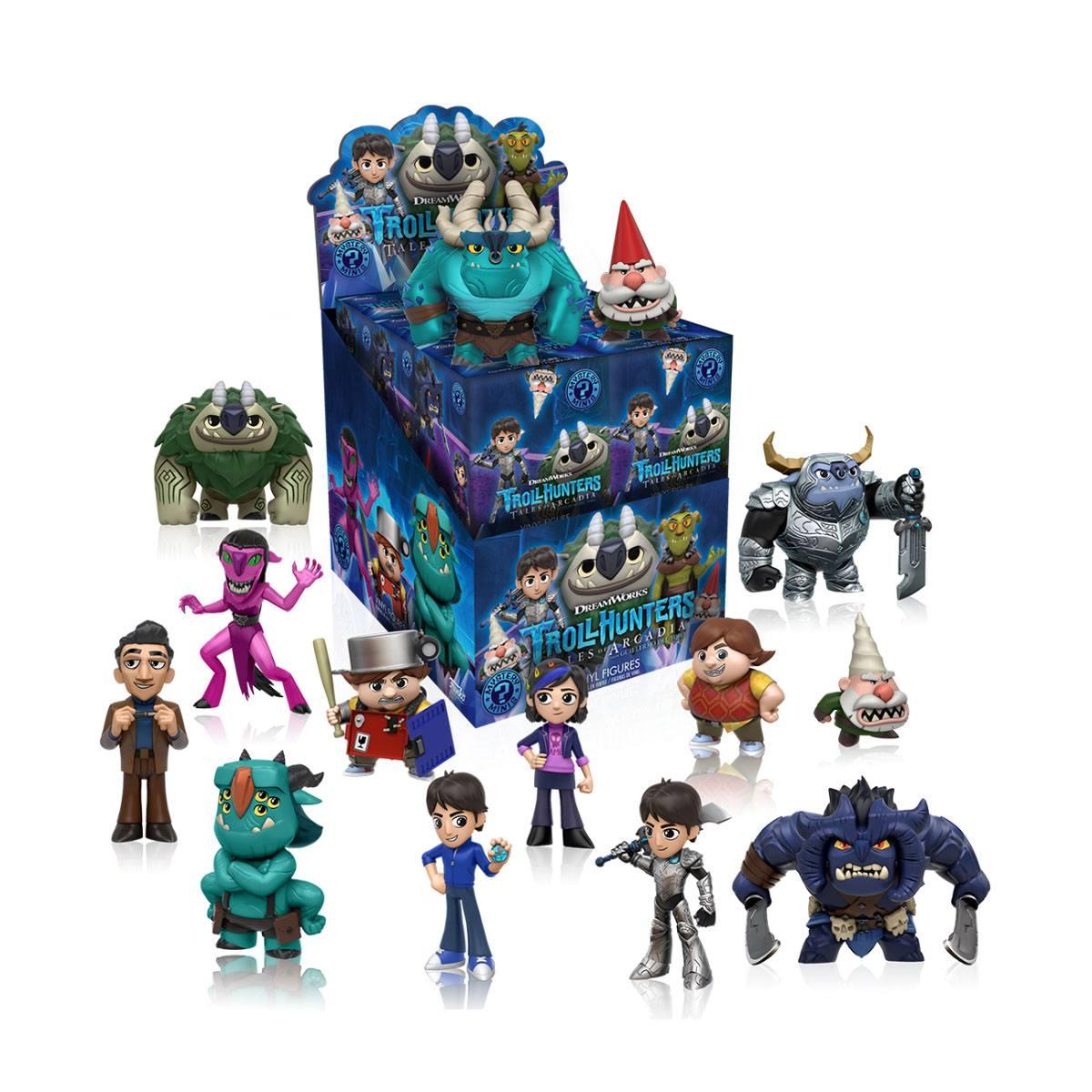 Trollhunters Mystery Mini Figures 5 cm Display (12)