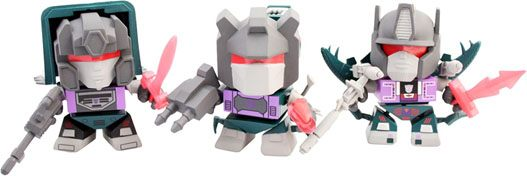 Transformers Action Vinyl Figures SDCC 2014 3-Pack Dinobots 8 cm