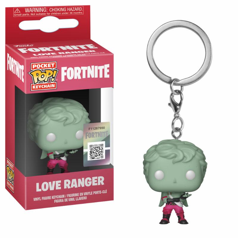 Fortnite Pocket POP! Vinyl Keychain Love Ranger 4 cm