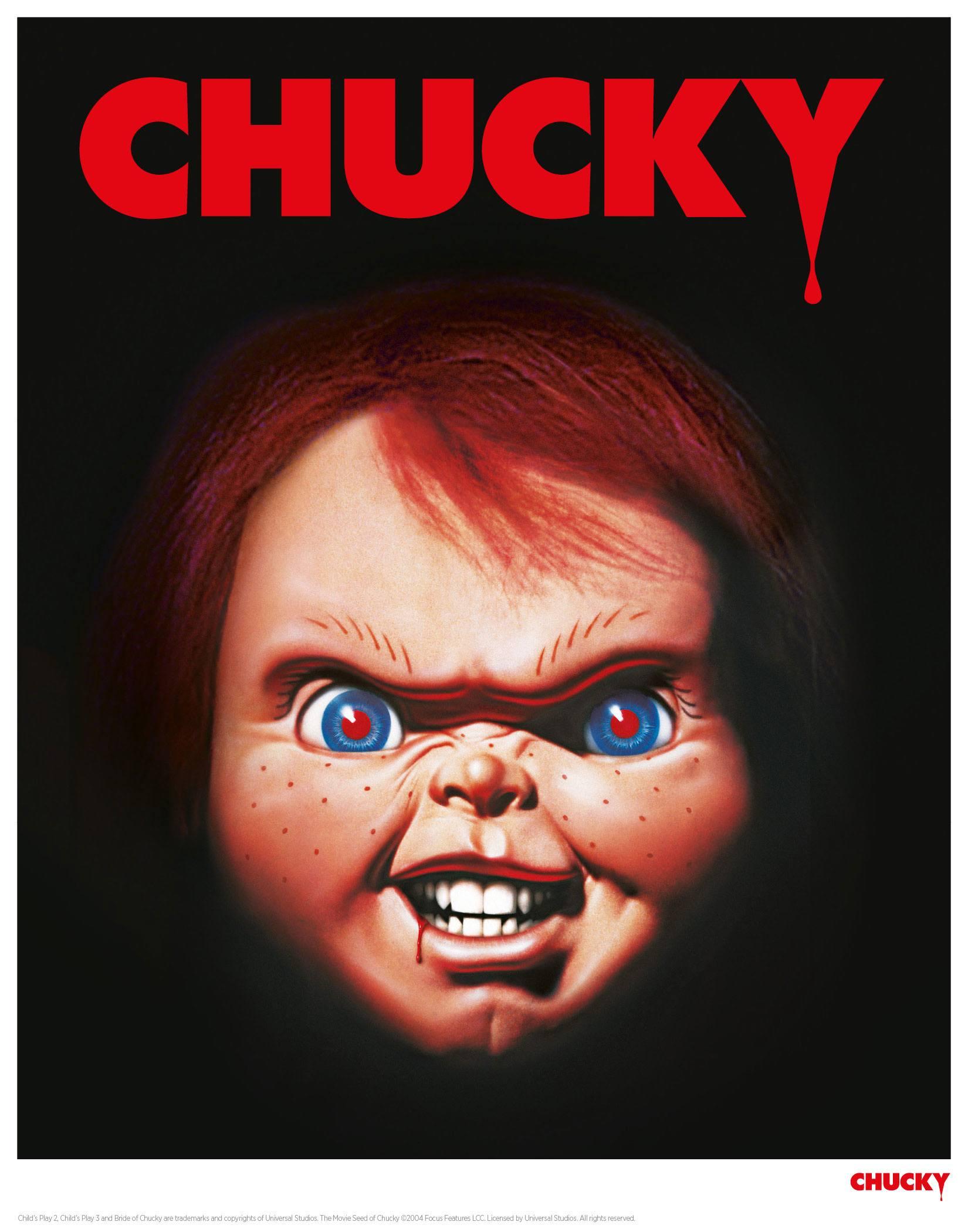 Child´s Play Art Print Classic Chucky 35 x 28 cm