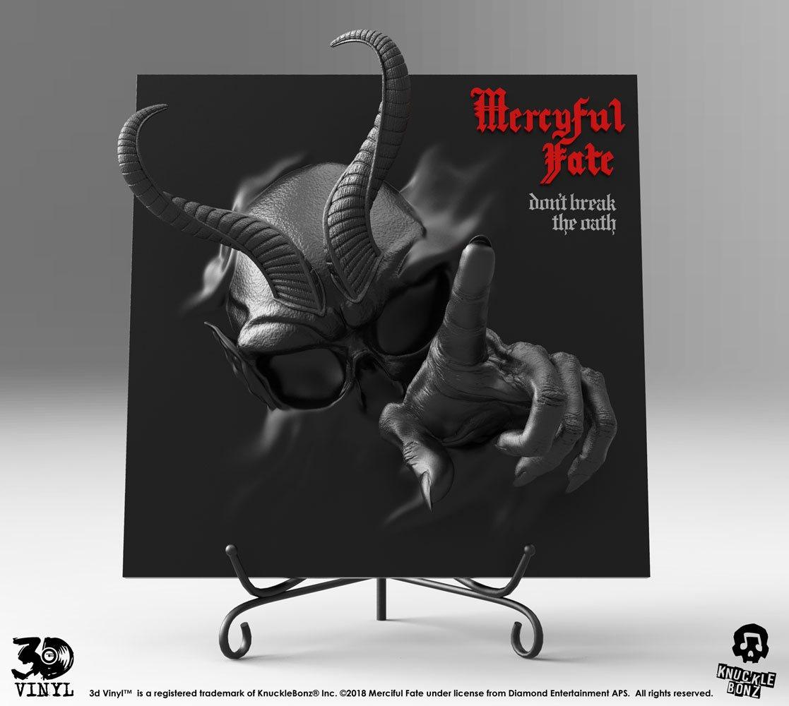 Mercyful Fate 3D Vinyl Statue Don't Break the Oath Darkness Version 30 cm
