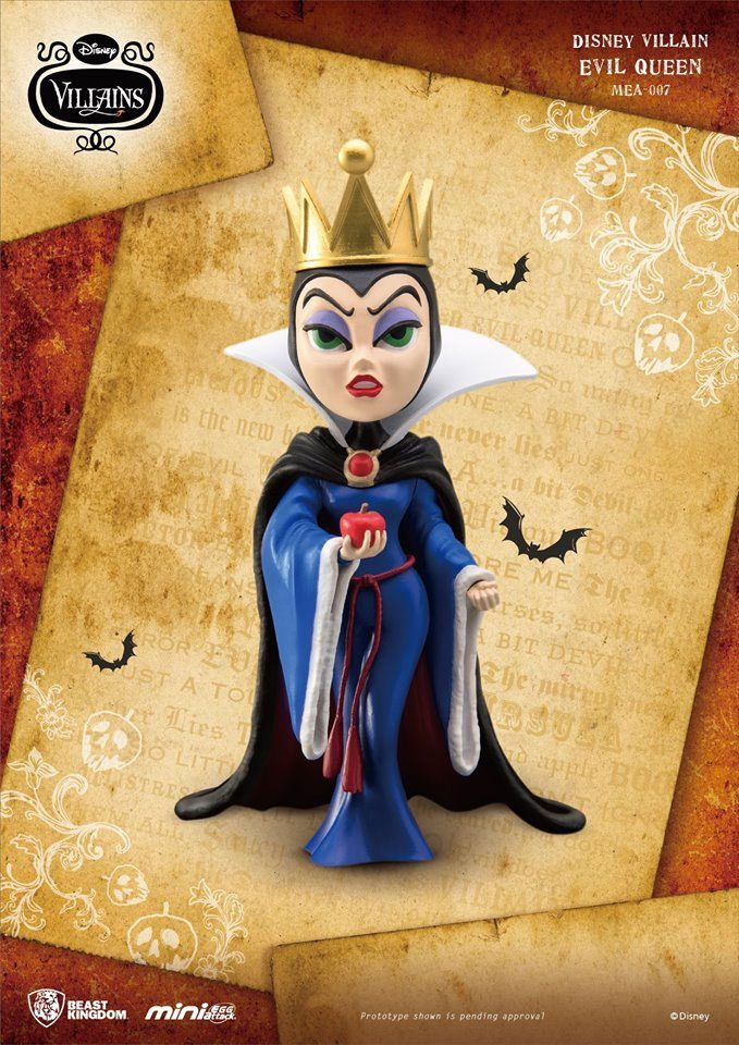 Disney Villains Mini Egg Attack Figure Evil Queen 10 cm