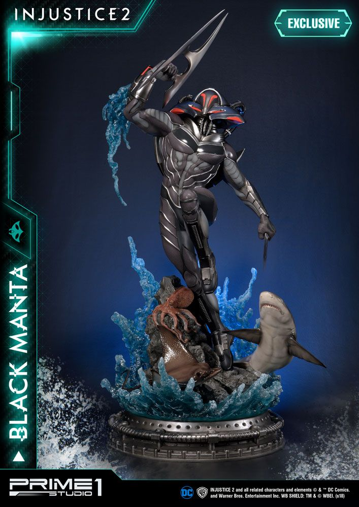 Injustice 2 Statues Black Manta & Black Manta Exclusive 77 cm Assortment (3)