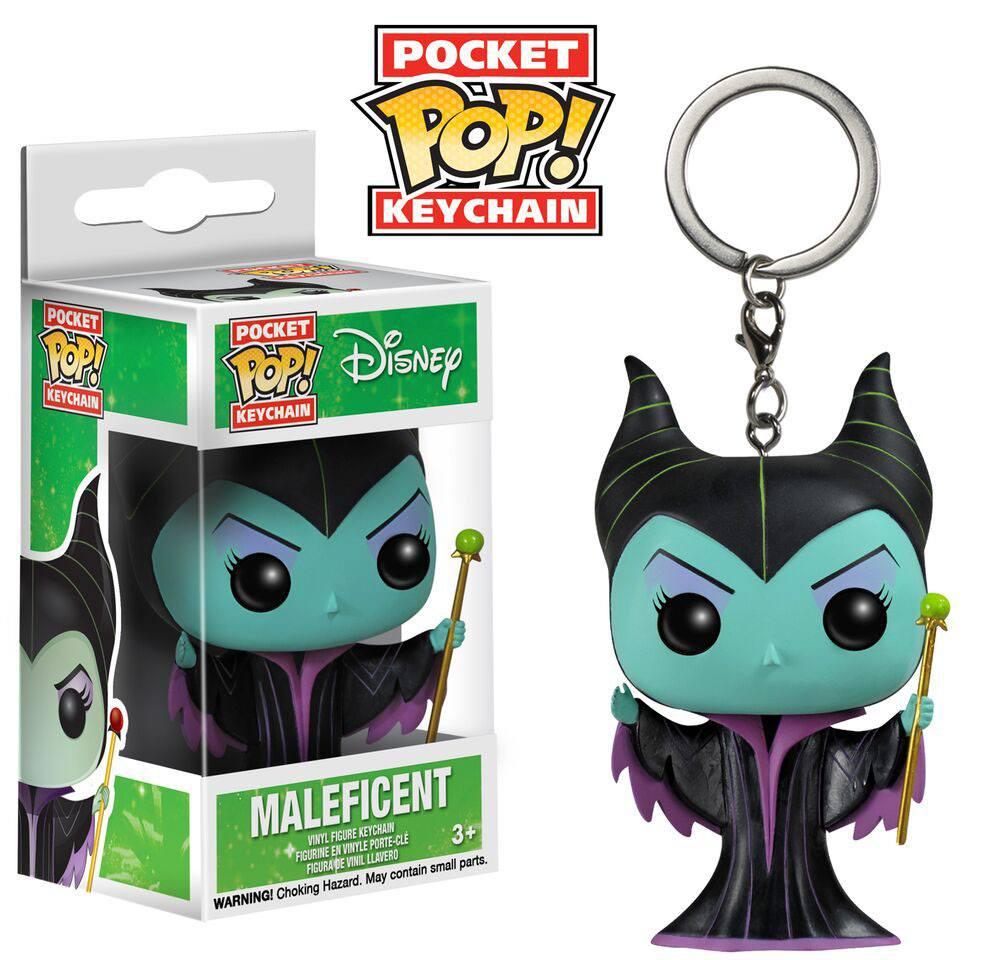 Disney Pocket POP! Vinyl Keychain Maleficent 4 cm