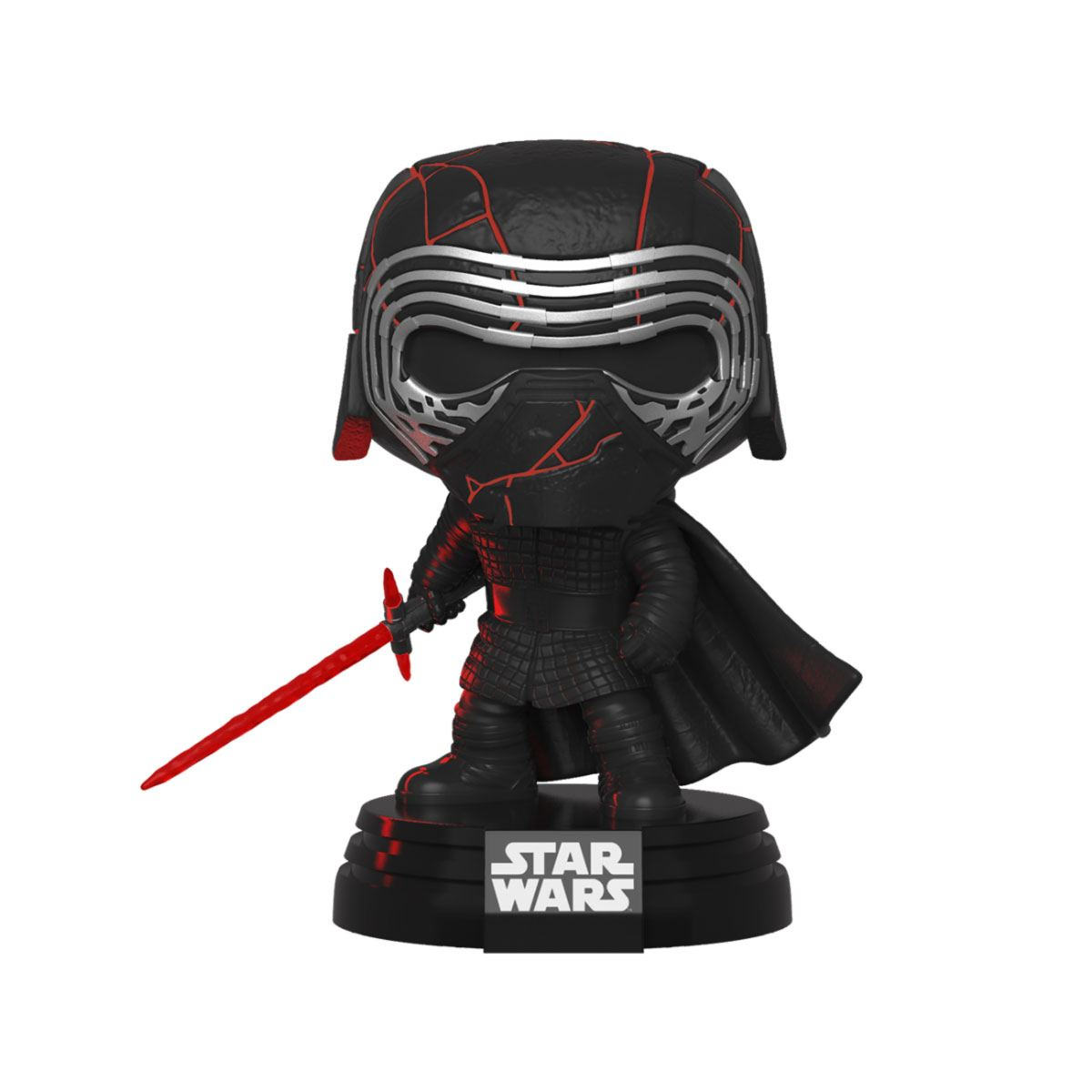 Star Wars Episode IX Electronic POP! Movies Vinyl Figure with Sound & Light Up Kylo Ren 9 cm