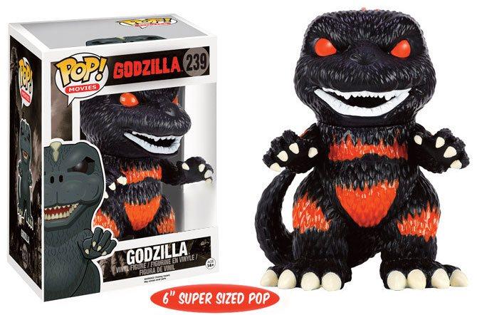 Godzilla Super Sized POP! Movies Vinyl Figure Godzilla Fire Version 15 cm