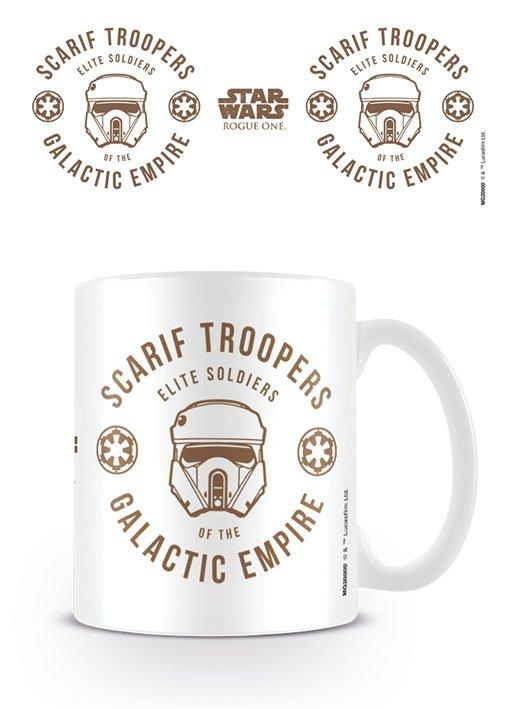 Star Wars Rogue One Mug Scarif Trooper
