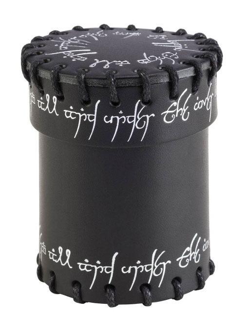 Elvish Dice Cup black & silver