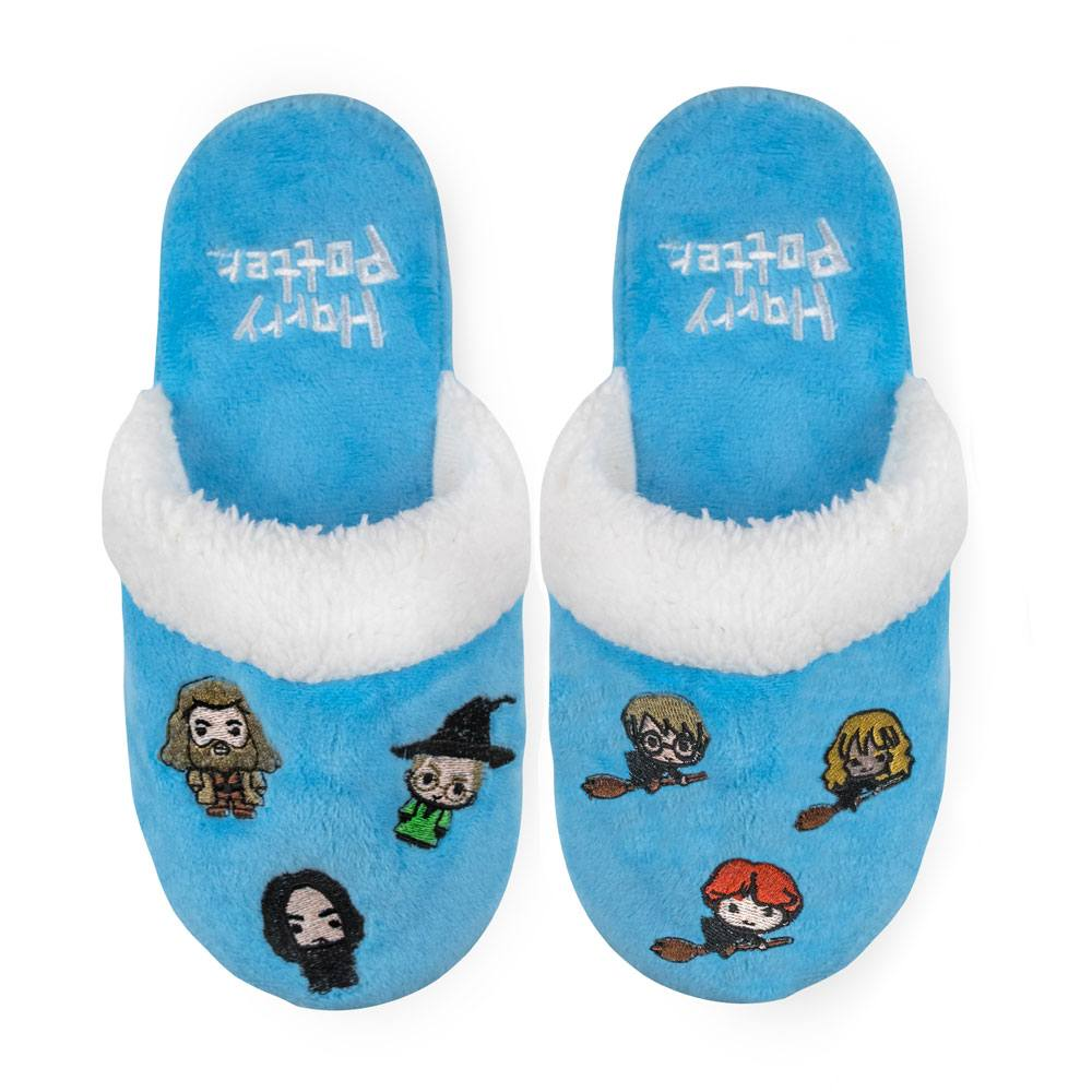 Harry Potter Kids Slippers Hogwarts Kawaii Size M/L