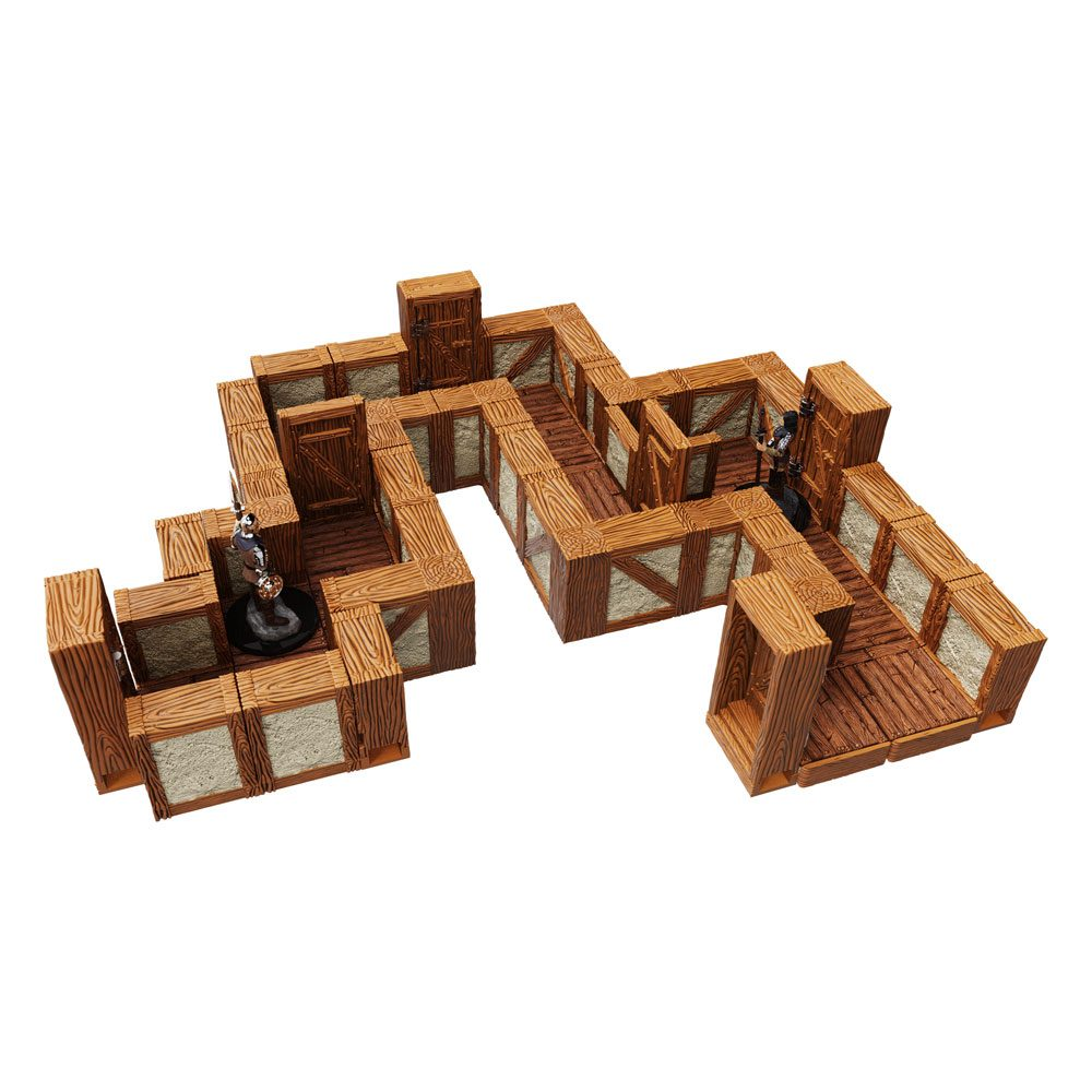 WarLock Tiles: Expansion Pack - Town & Village Straight Walls