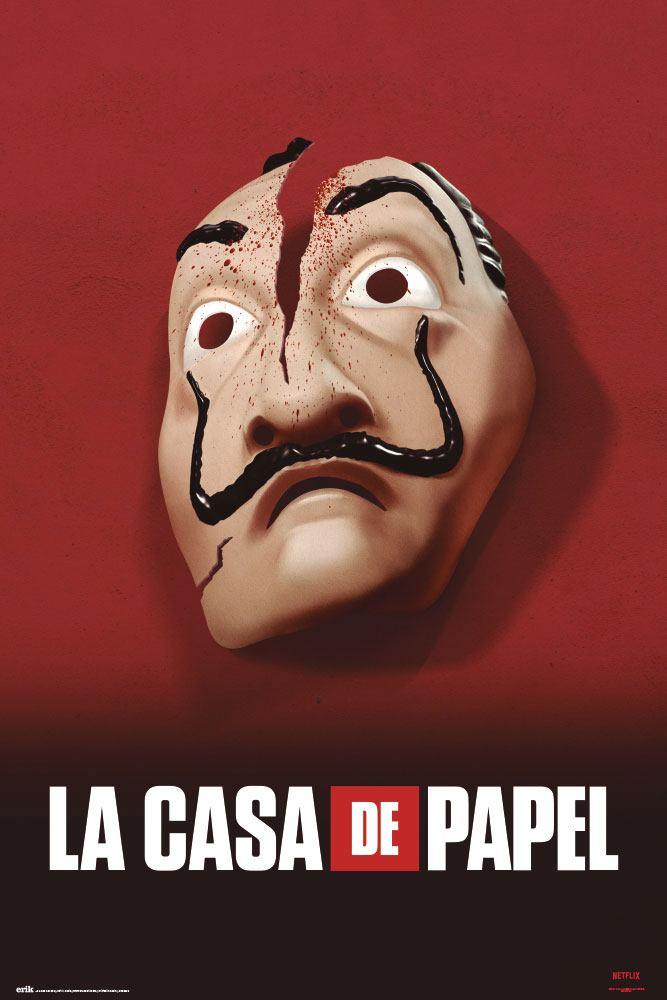 Money Heist Poster Mask 61 x 91,5 cm