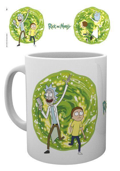 Rick and Morty Mug Portal