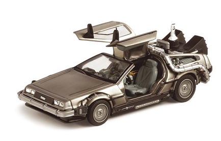 Back to the Future II Diecast Model 1/43 DMC DeLorean