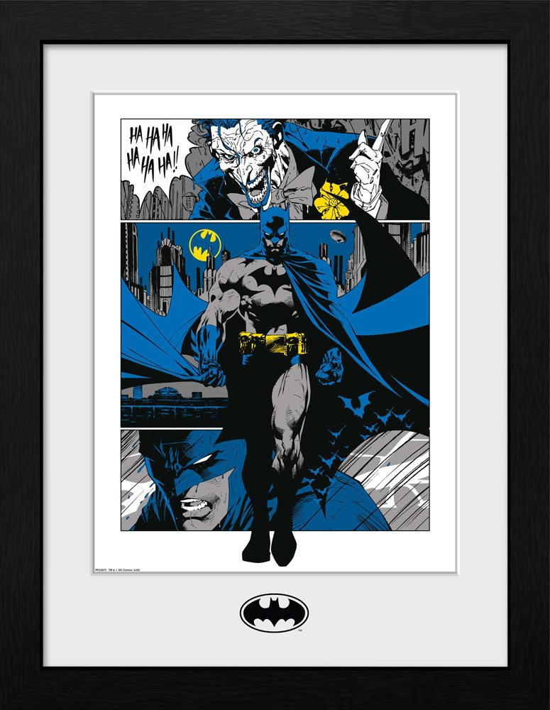 Batman Collector Print Framed Poster Panels