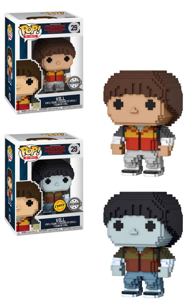 Stranger Things POP! 8-Bit Vinyl Figures Will 9 cm Assortment (6)