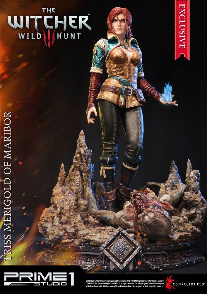 Witcher 3 Wild Hunt Statues Triss Merigold & Triss Merigold Exclusive 56 cm Assortment (3)