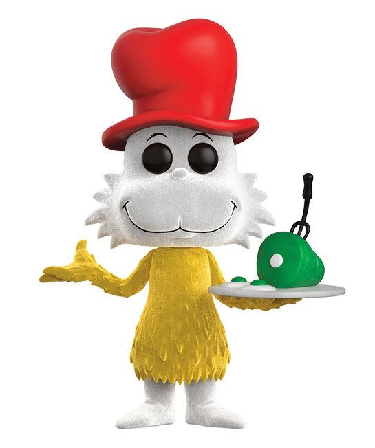 Dr. Seuss POP! Books Vinyl Figure Sam I Am (Flocked) 9 cm