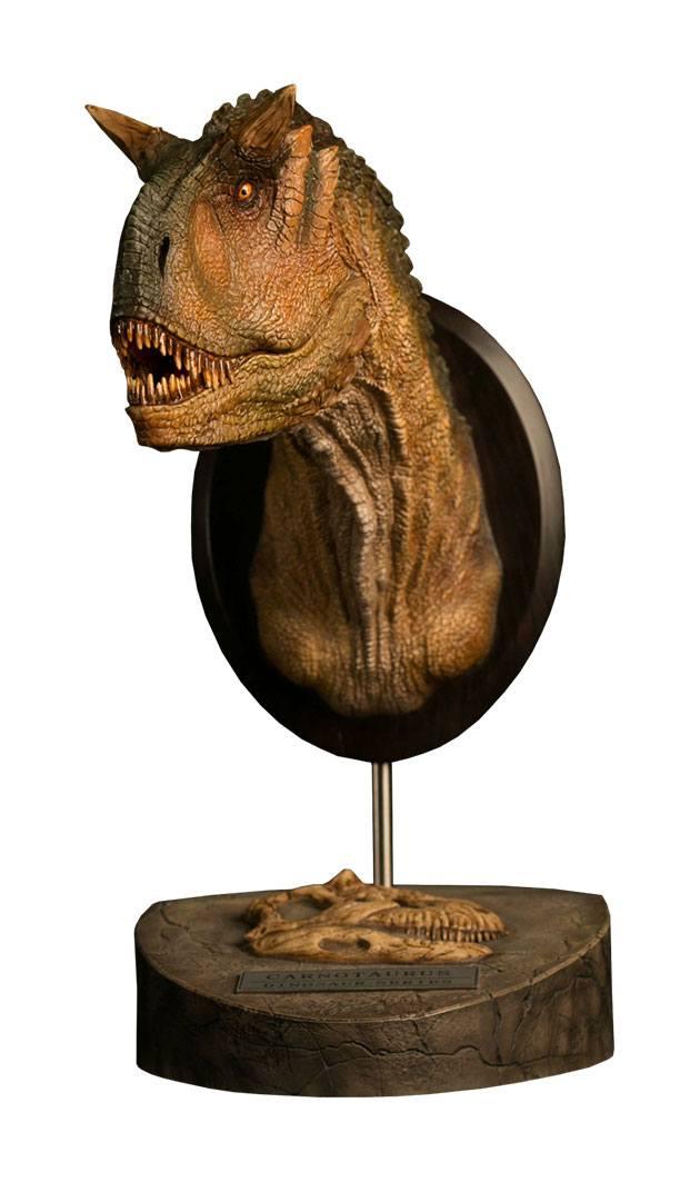 Paleontology World Museum Collection Series Bust Carnotaurus Female Green Ver. 25 cm