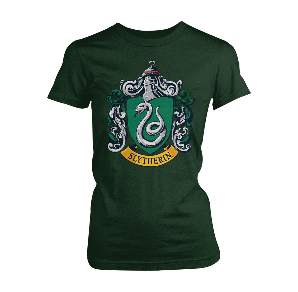 Harry Potter Ladies T-Shirt Slytherin Size XL
