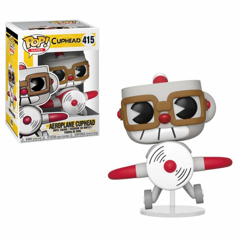 Cuphead POP! Games Vinyl Figure Aeroplane Cuphead 9 cm