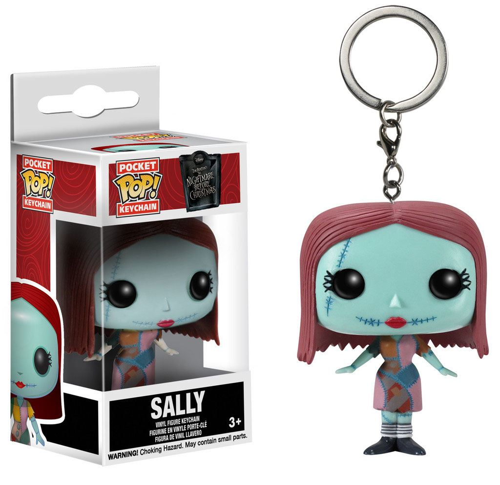 Nightmare Before Christmas Pocket POP! Vinyl Keychain Sally 4 cm
