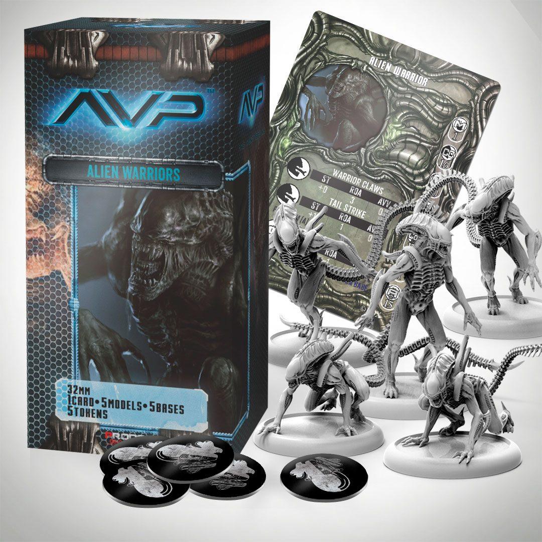 AvP Tabletop Game The Hunt Begins Expansion Pack Alien Warriors