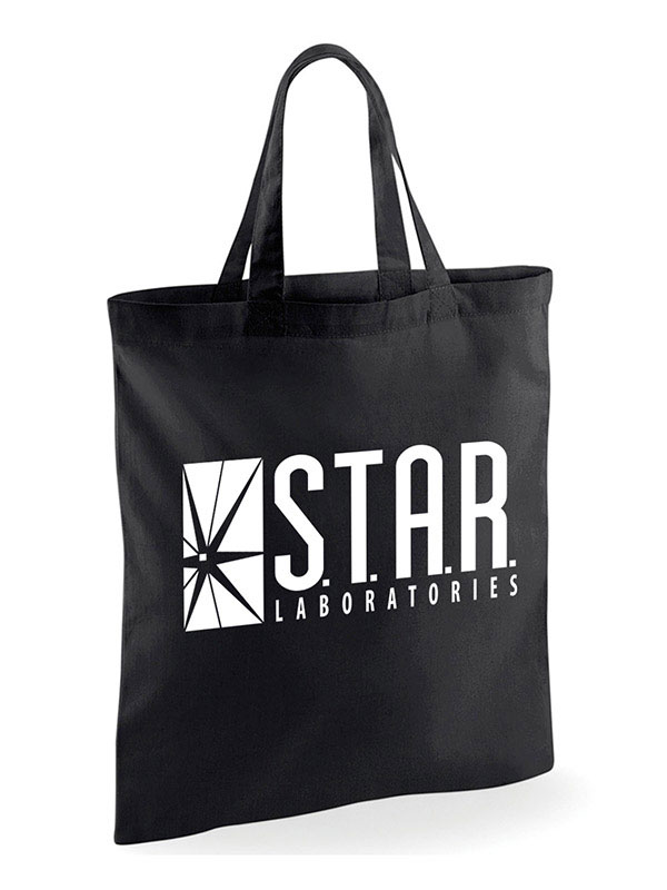 Flash Tote Bag Star Labs Logo