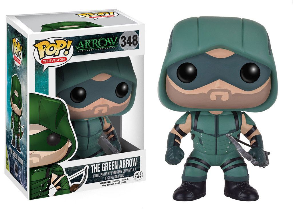 Arrow POP! Television Vinyl Figure The Green Arrow 9 cm