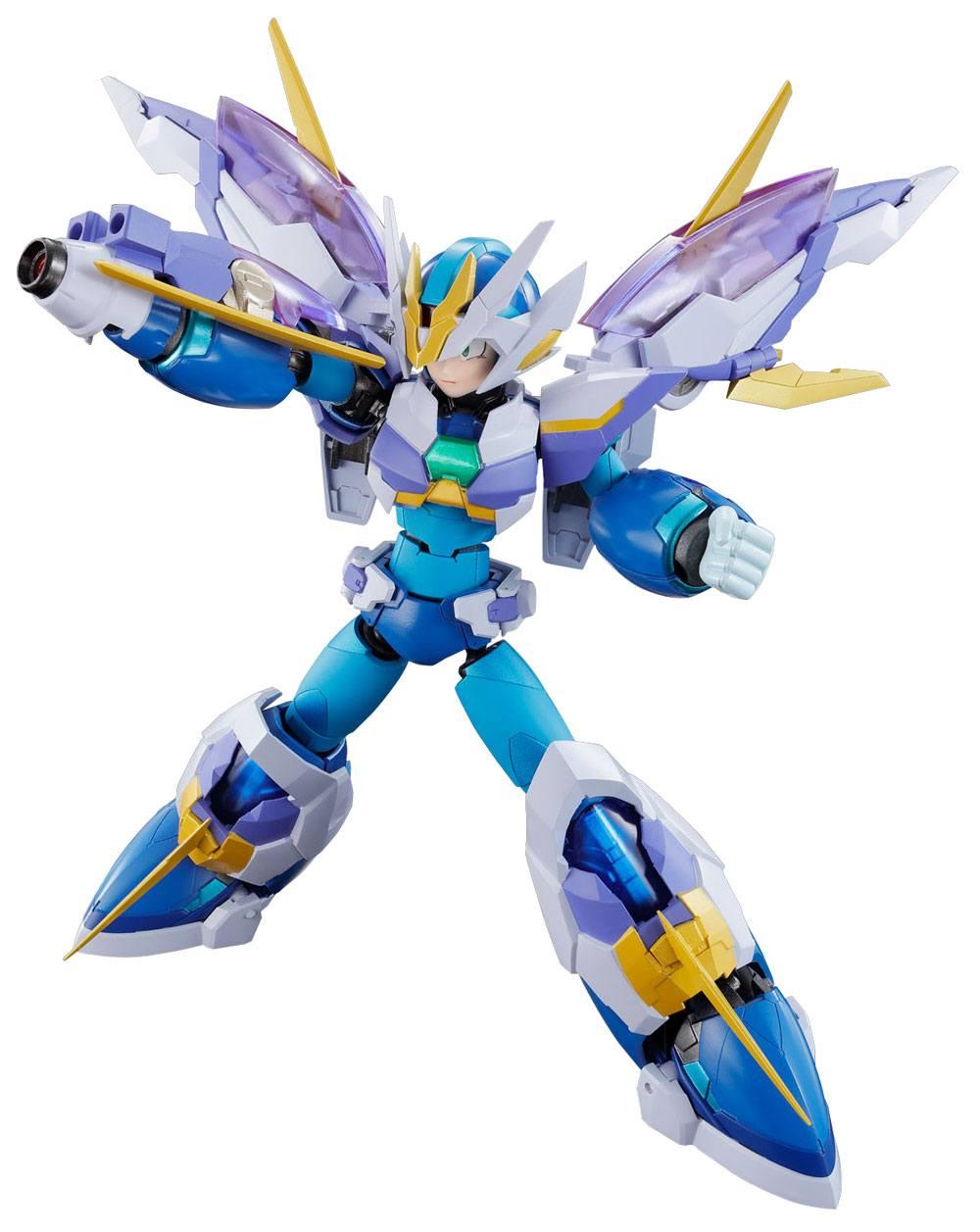 Megaman X Chogokin Diecast Action Figure Megaman X Giga Armor X Ver. 14 cm