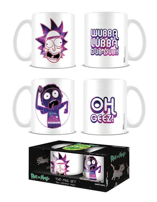 Rick and Morty Mugs 2-Pack Cosmic