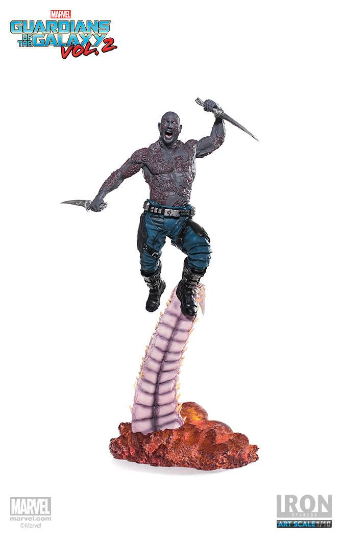 Guardians of the Galaxy Vol. 2 Battle Diorama Series Statue 1/10 Drax 33 cm --- DAMAGED PACKAGING