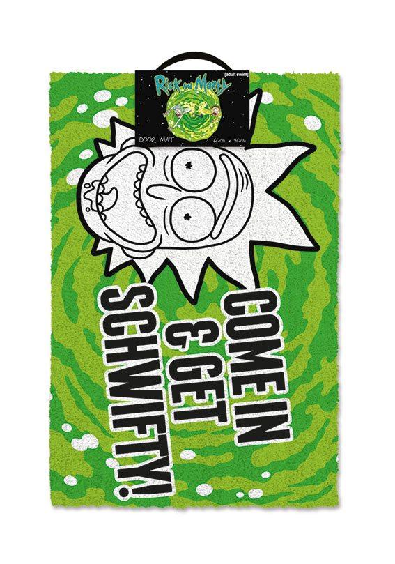 Rick and Morty Doormat Get Schwifty 40 x 57 cm