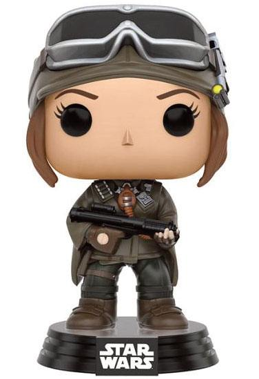 Star Wars Rogue One POP! Vinyl Bobble-Head Jyn Erso (Mountain Gear) 9 cm