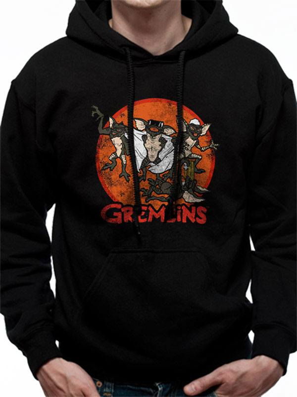 Gremlins Hooded Sweater Retro Group Size M