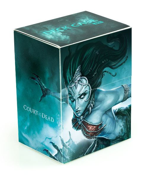 Court of the Dead Basic Deck Case 80+ Standard Size Death's Siren I