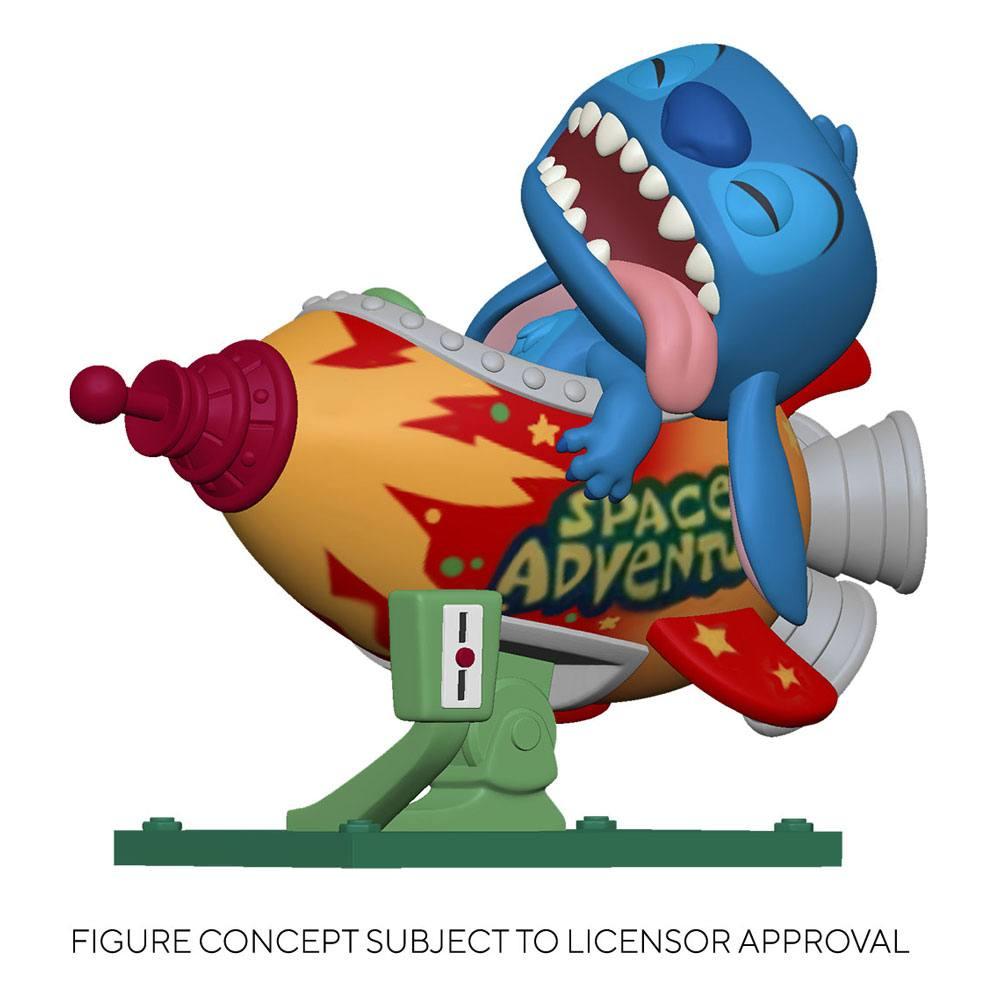 Lilo & Stitch POP! Rides Vinyl Figure Stitch in Rocket 15 cm