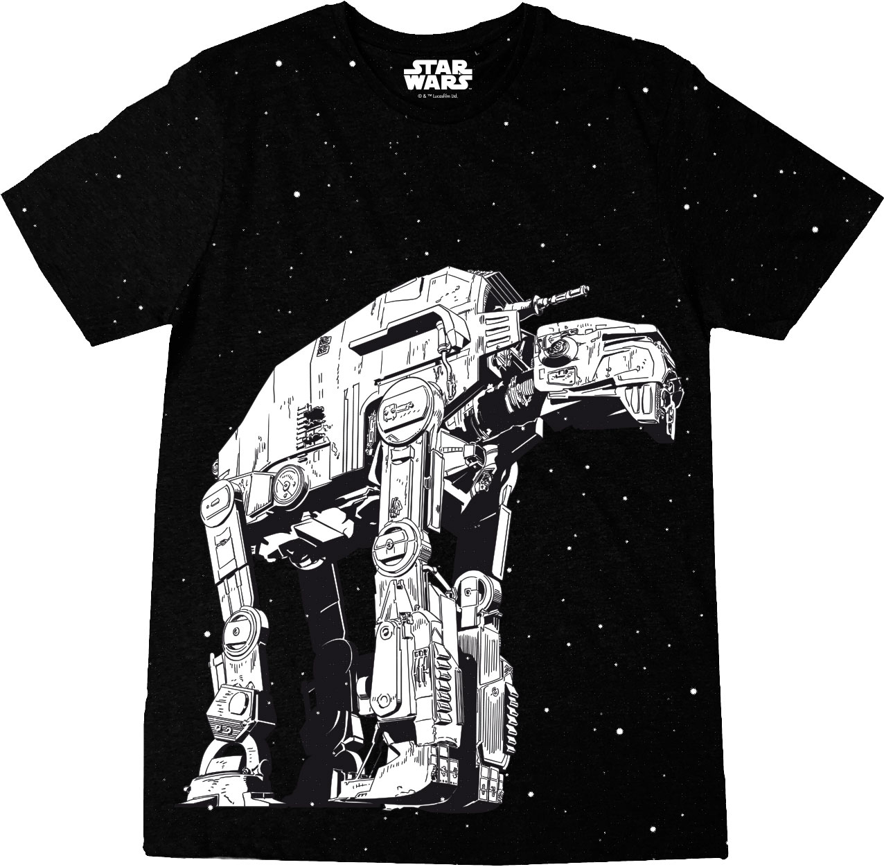 Star Wars Episode VIII T-Shirt AT-M6 Size L